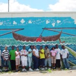 Boat Mural