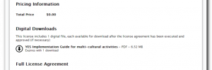 YES License Agreement