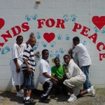 Hands for Peace Mural